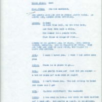 The Ecstasy of Rita Joe: First Draft [stage play]