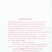 The Angel of the Tar Sands: Typescript drafts (photocopies) of Stories for Alberta / A Celebration<br /><br />