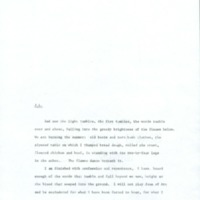 The Tent Peg: Novel: Excerpt from Third Draft, f160-164 (MsC 53.6.3)<br /><br />
