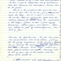 The Tent Peg: Novel: Excerpt from First Holograph Draft , f75-80  (MsC 53.5.12)